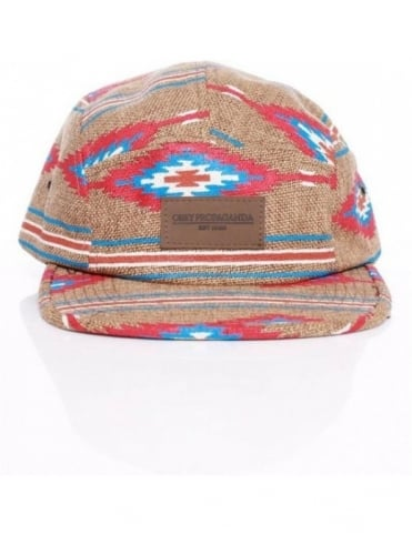 Prescott Five Panel Hat - Natural