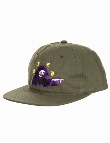 Reaper 6 Panel Hat - Army