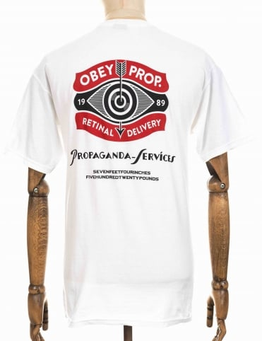 Obey Clothing Retinal Delivery Tee - White