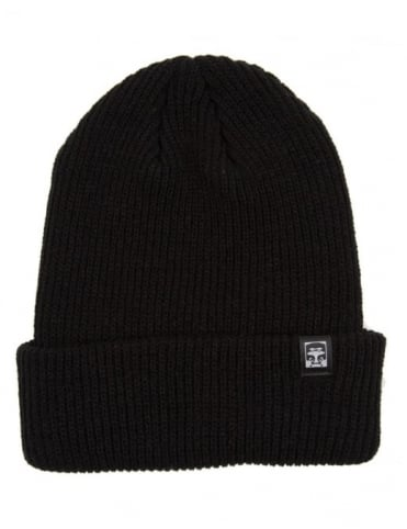 Obey Clothing Ruger 89 Beanie Hat - Black