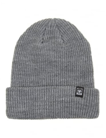 Obey Clothing Ruger 89 Beanie Hat - Heather Grey