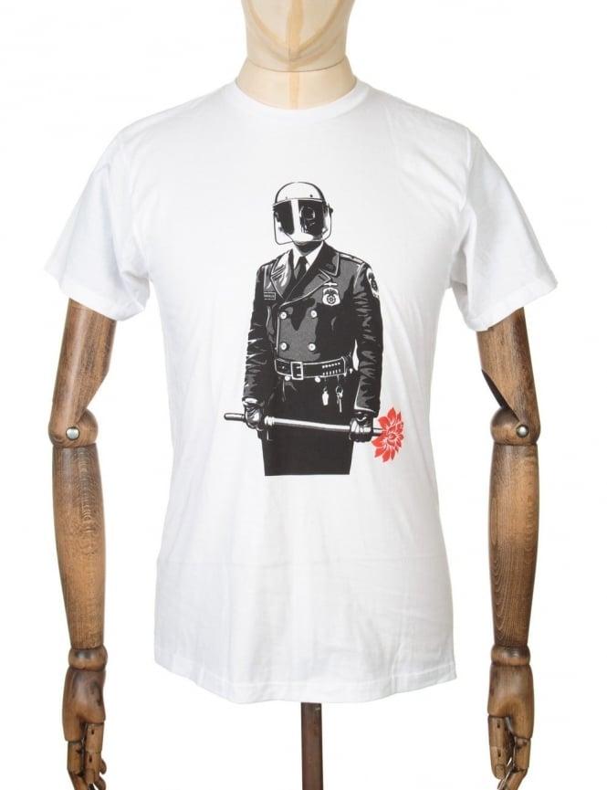 Obey Clothing Sadistic Florist T-shirt - White