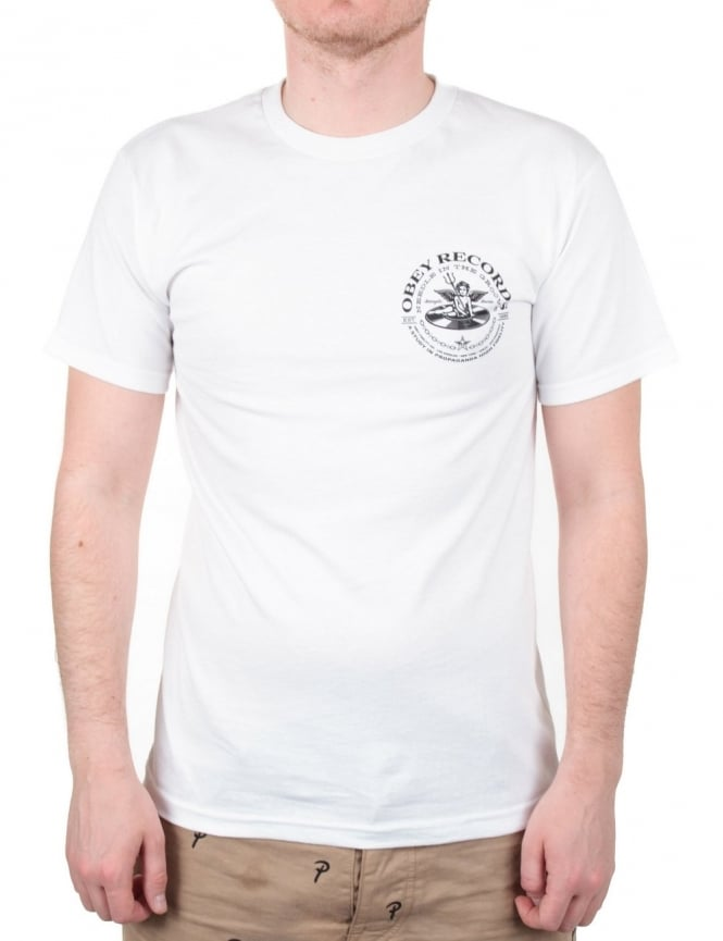 Obey Clothing Satangelic Sounds Tee - White