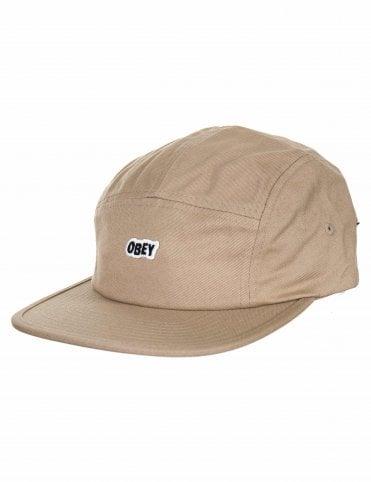 b40b86d7c9ce9 Obey Clothing Sleeper Camp Cap - Khaki