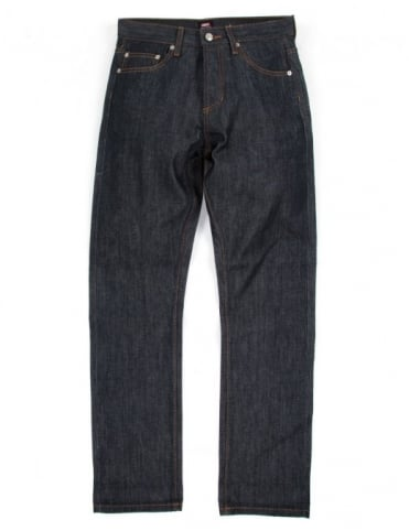 Obey Clothing Standard Selvedge Denim - Raw Indigo