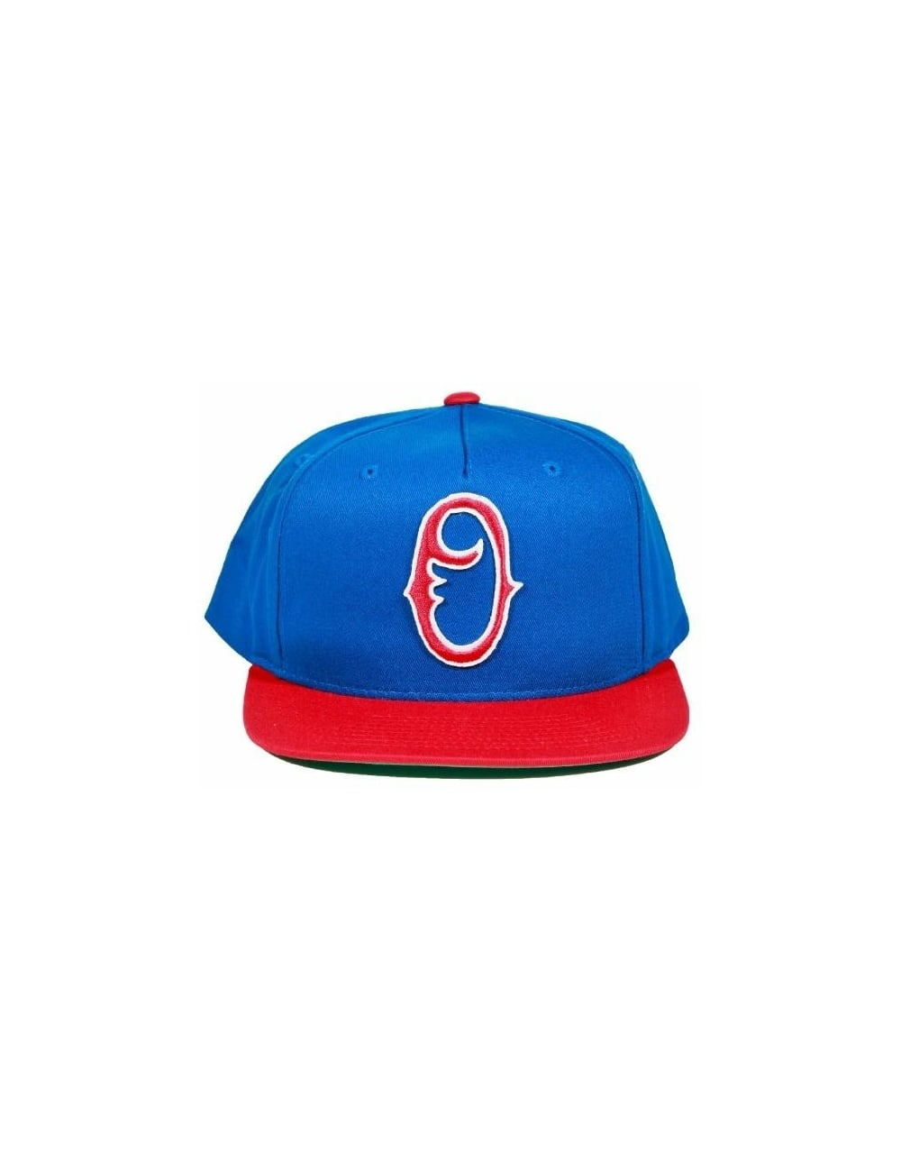 Obey Clothing Staple Snapback - Blue Red - Hat Shop from Fat Buddha ... 5115eff46831