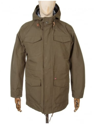 Obey Clothing Stiller Jacket - Olive Night