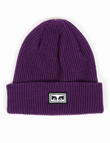 Subversion Beanie Hat - Dark Purple
