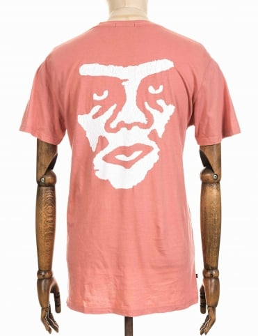 Obey Clothing The Creeper Washed Tee - Pink
