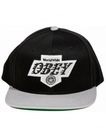 The Great One Snapback - Black/Grey