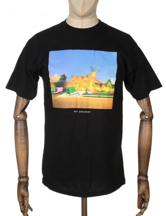 Obey Clothing The Void T-shirt - Black