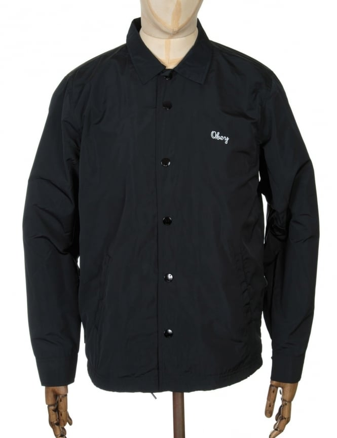 Obey Clothing Title Jacket - Black