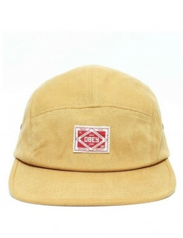 Trademark Five Panel Hat - Amber Gold