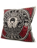 Obey Clothing Vive Le Rock Cushion - Cream