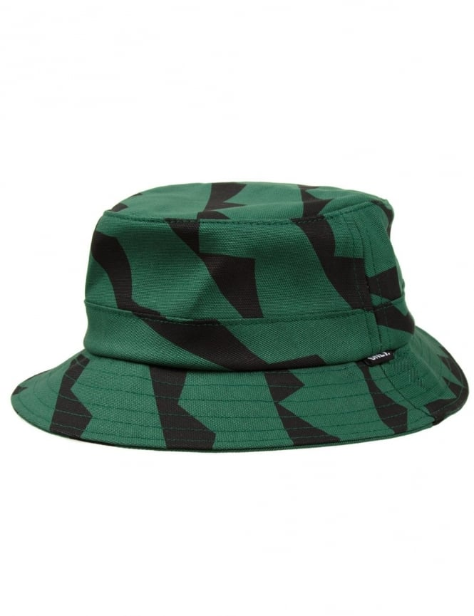 Only NY Clothing Cubism Bucket Hat - Hunter Green