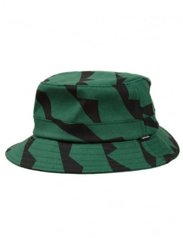 Cubism Bucket Hat - Hunter Green