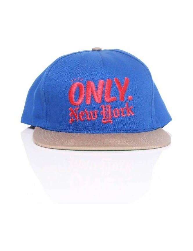 Only NY Clothing Logo Snapback - Royal/Khaki