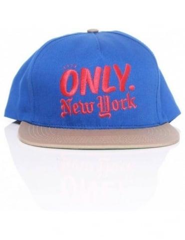 Only NY Clothing Logo Snapback - Royal/Khaki