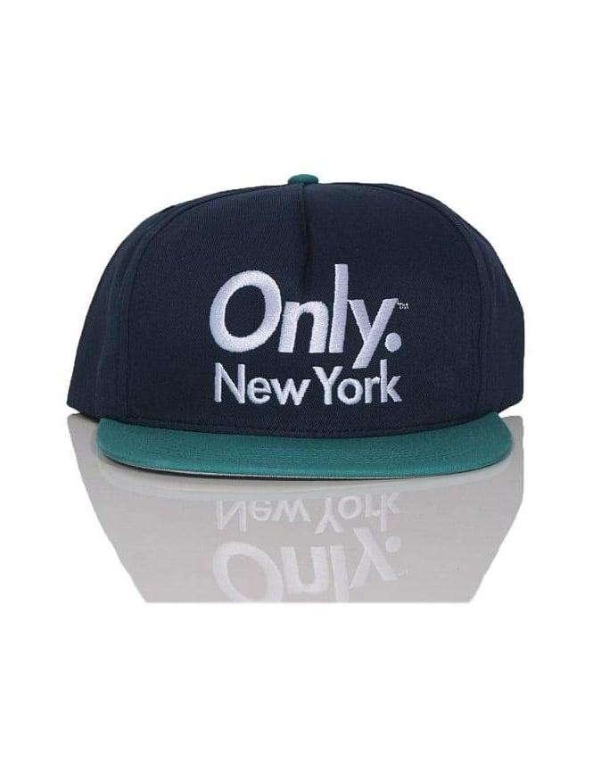 Only NY Clothing Sports Logo Snapback - Navy/Teal