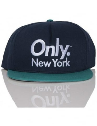 Sports Logo Snapback - Navy/Teal