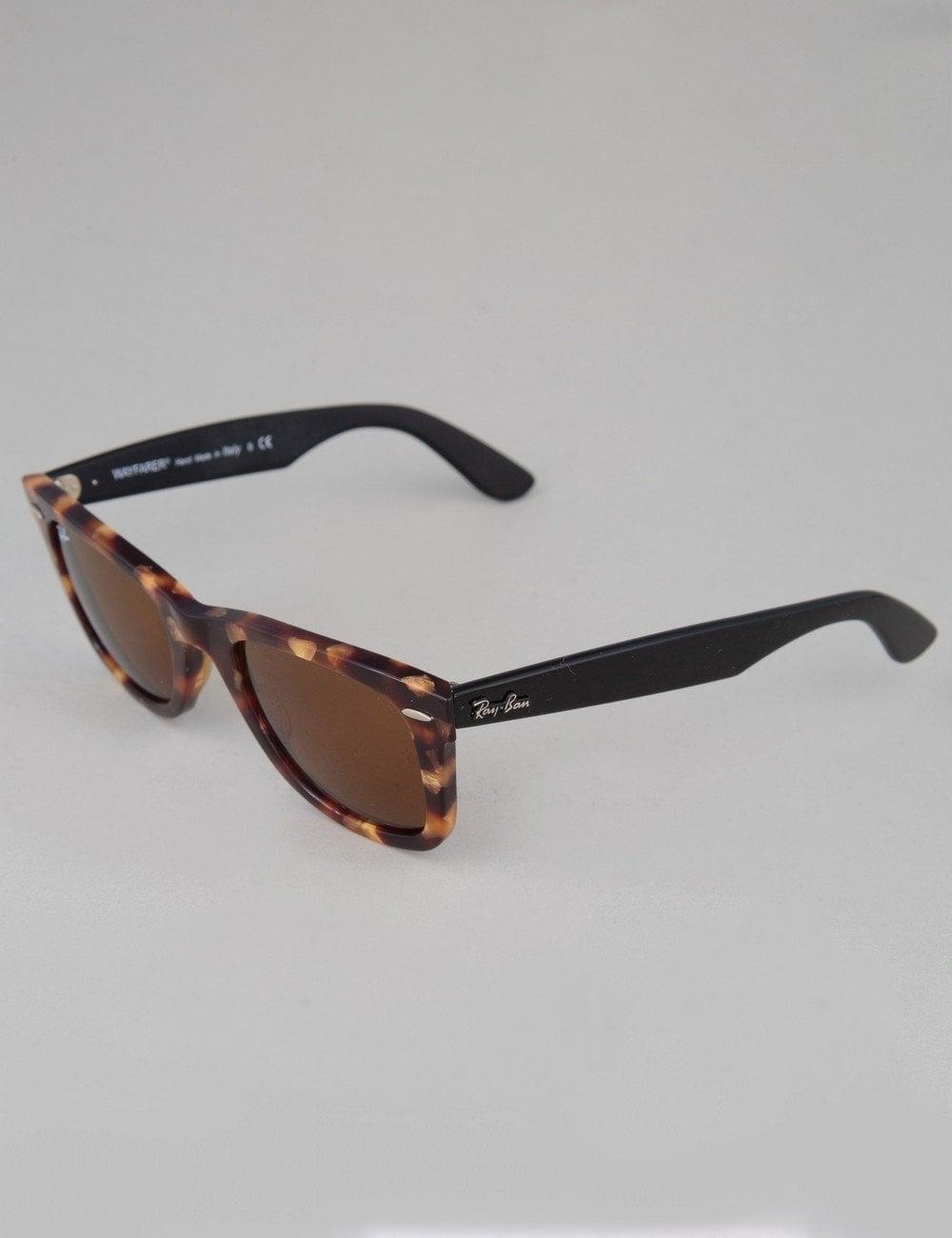 777c86d4008baf Ray-Ban Original Wayfarer Sunglasses - Spotted Brown Havana    Brown ...