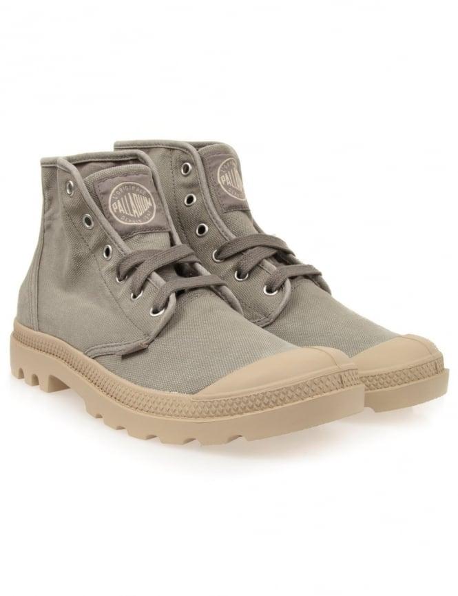 Palladium Pampa Hi Boots - Concrete Putty