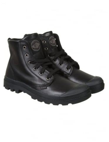 Palladium Pampa Hi Leather - Black