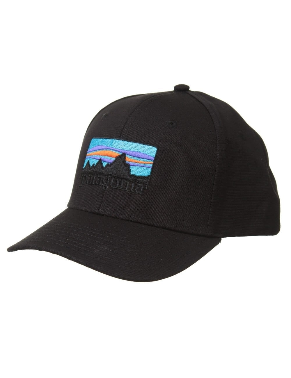 Patagonia 73 Logo Roger That Hat - Black - Accessories from Fat ... 7e949f7f008