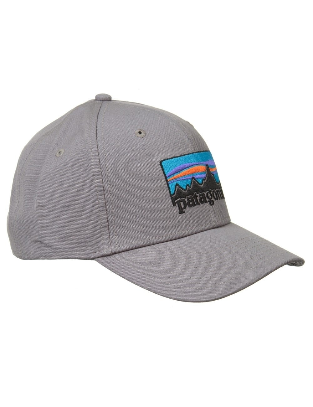 Patagonia 73 Logo Roger That Hat - Feather Grey - Accessories from ... c1c7108e116