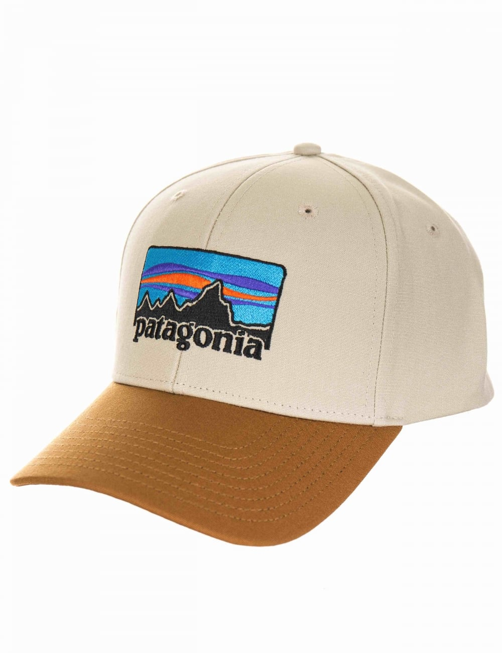 Patagonia  73 Logo Roger That Hat - Pelican - Accessories from Fat ... 692939e2541