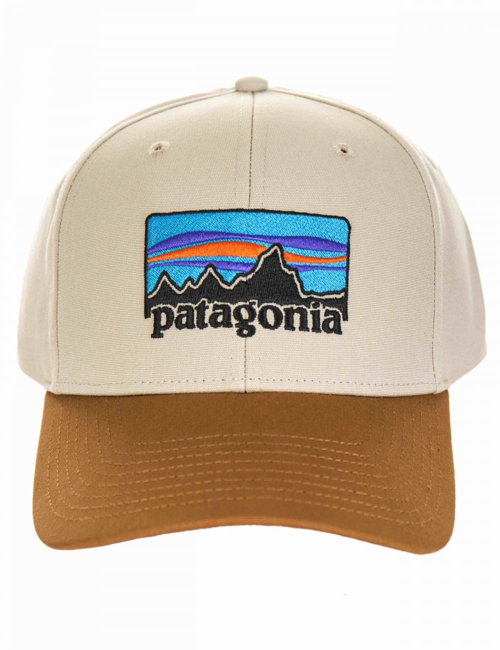 Patagonia  73 Logo Roger That Hat - Pelican - Accessories from Fat ... c2dae5be896