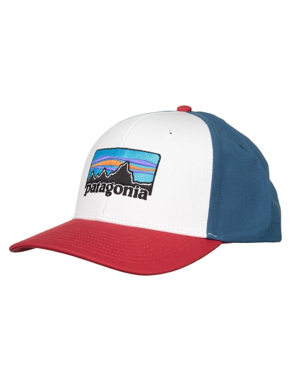 Patagonia 73 Logo Roger That Hat - White - Accessories from Fat ... a94ae39ab2b