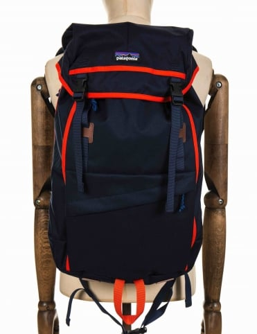 Arbor Grande 32L Backpack - Navy Blue/Paintbrush Red