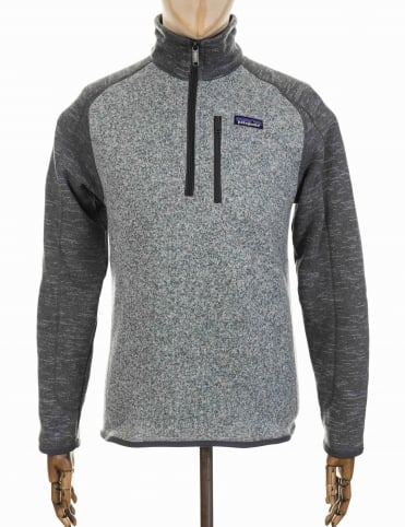 Patagonia Better Sweater 1/4 Zip - Nickel/Forge Grey