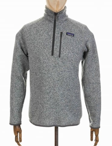 Patagonia Better Sweater 1/4 Zip - Stonewash