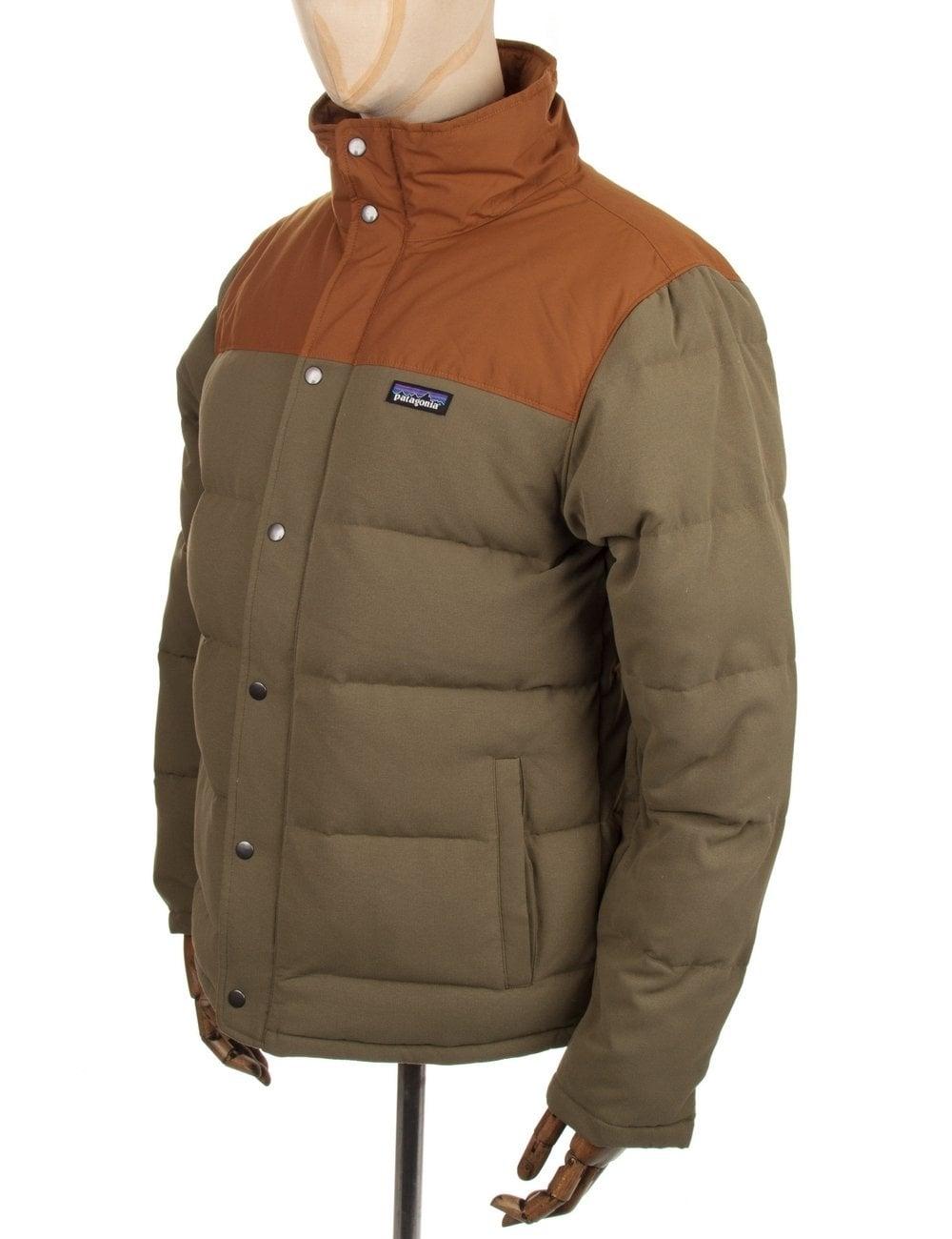 Bivy Down Jacket Fatique Green