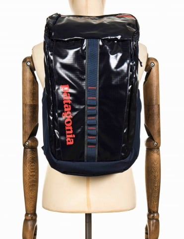 Black Hole 25L Backpack - Navy Blue/Paintbrush Red