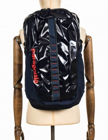 Black Hole 30L Backpack - Navy Blue/Paintbrush Red