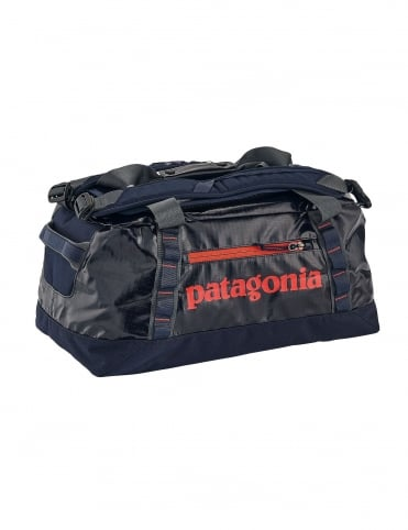 Black Hole 45L Duffle Bag - Navy Blue w/Paintbrush Red