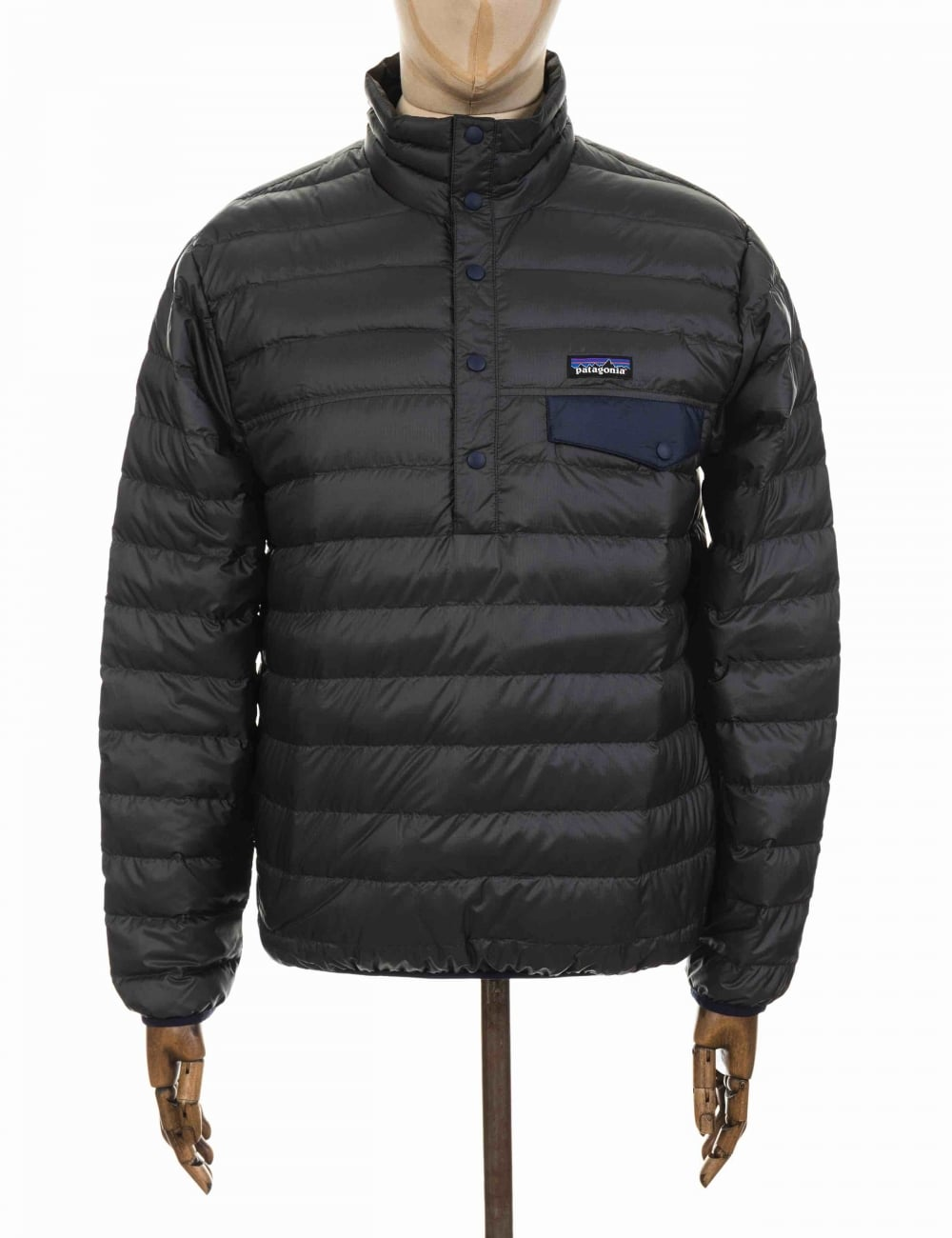 Patagonia Down Snap-T Pullover - Forge Grey - Jackets from Fat ... 9187f17215f3