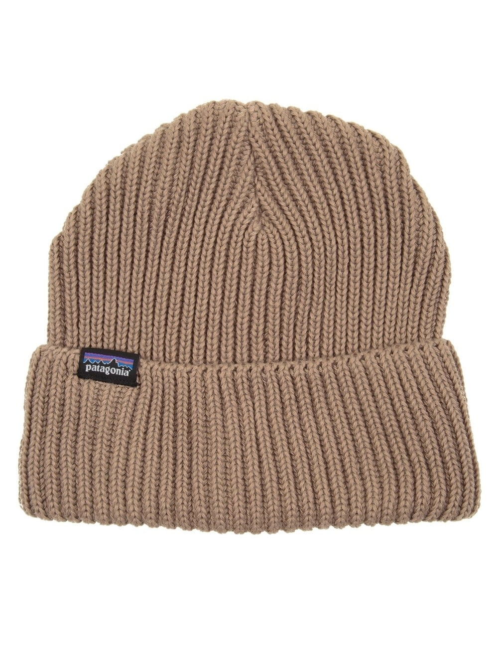 806e7bdf7b3 Patagonia Fisherman s Rolled Beanie - Ash Tan - Accessories from Fat ...