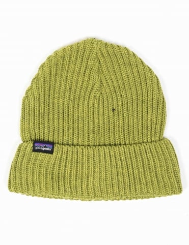 Fisherman's Rolled Beanie - Jungle Green