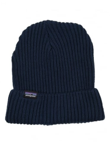 Patagonia Fisherman's Rolled Beanie - Navy Blue
