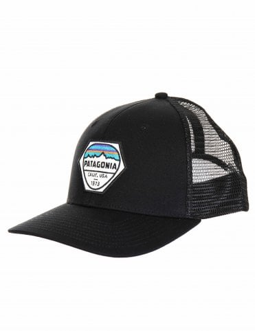 Patagonia Fitz Roy Hex Trucker Hat - Black a579b695b814