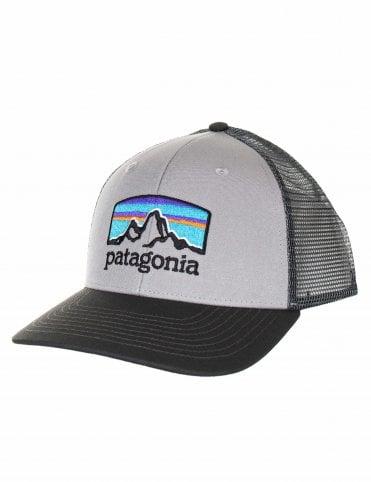 45c7012b17101 Patagonia Fitz Roy Horizons Trucker Hat - Drifter Grey