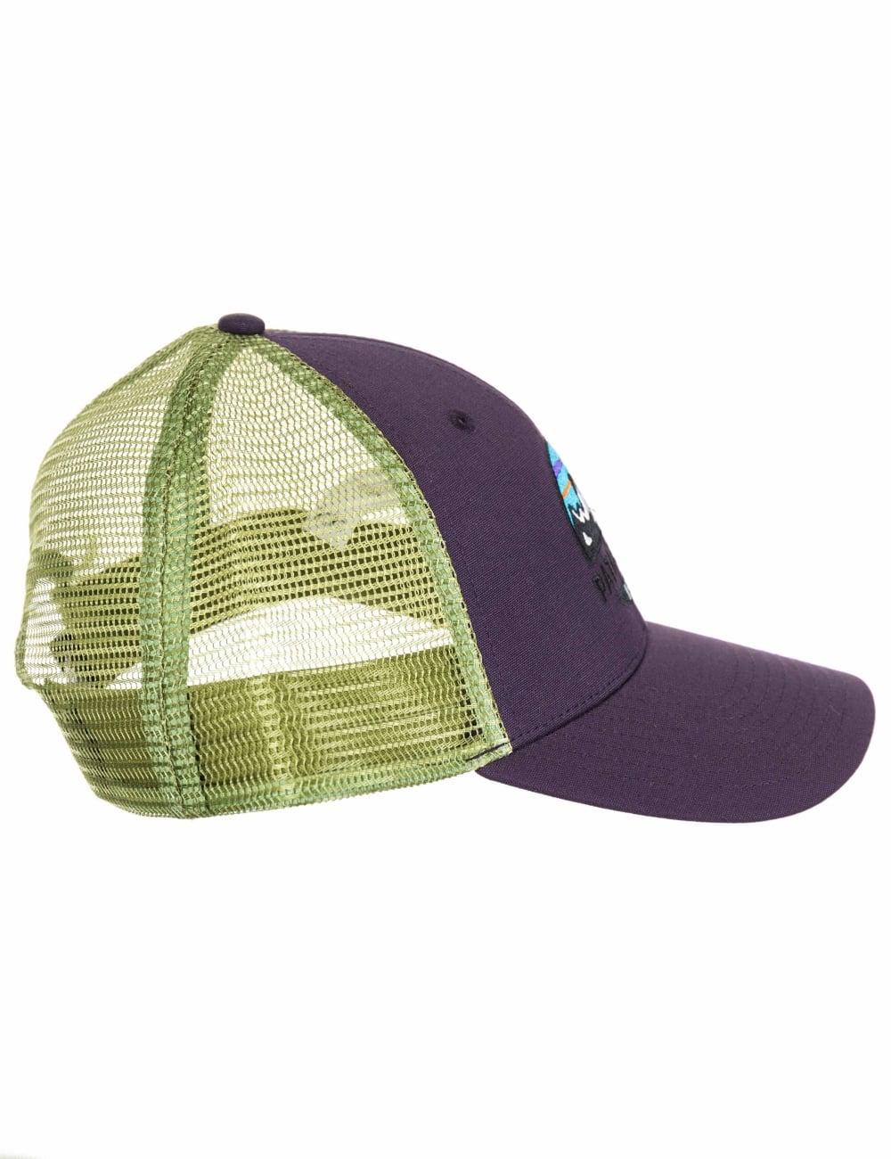 b22823cc5 Patagonia Fitz Roy Scope LoPro Trucker Hat - Piton Purple - Hat Shop ...