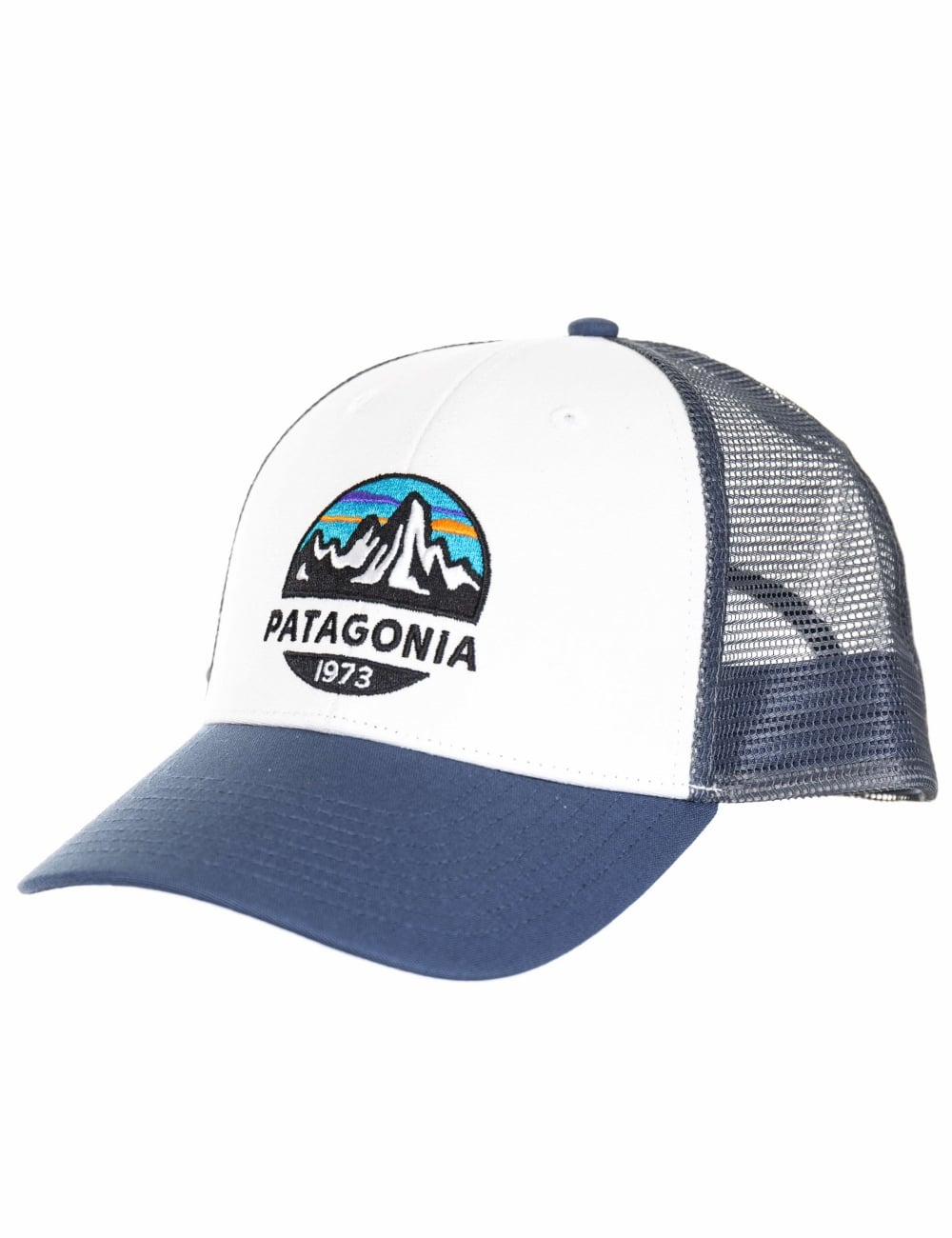 690414d2 Patagonia Fitz Roy Scope LoPro Trucker Hat - White - Accessories ...