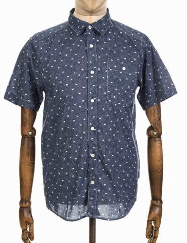 Go To Shirt - Jellyfish Small: Navy Blue