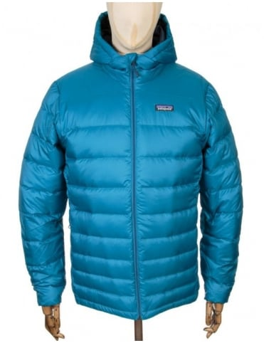 Patagonia Hi-Loft Down Jacket - Underwater Blue