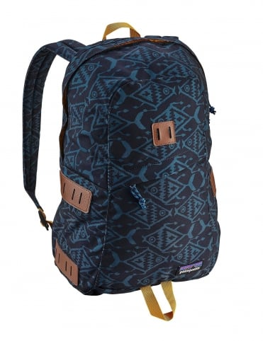 Ironwood 20L Backpack - Ikat Fish Small: Baby Blue